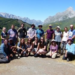 This project is part of a long-term collaboration with Picos de Europa National Park, Spain, Bird Life International and University of Leon. It investigates key ways in which environmental change is affecting ecological in alpine heathlands and forest ecosystems in the Picos De Europa. This year we tested 1) the effect that deer grazing is having on bilberry as a food resource for e.g. Capercaillie and Brown Bear 2) What are the long-lasting ecological effects of mining for metal ores – do plant species translocate toxic metals in the soil to shoots where they become available to grazers?